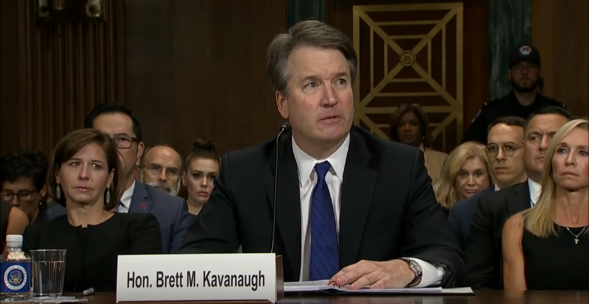 Brett Kavanaugh FULL Opening Statement (YouTube screen capture) © San Diego Union-Tribune