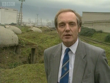 Bill Hamilton BBC News report from 1990 (screen capture) © BBC